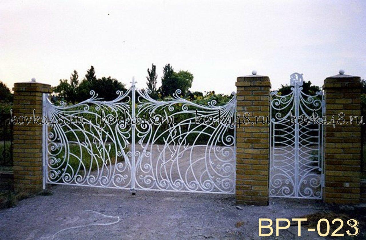 ворота кованые в воронеже