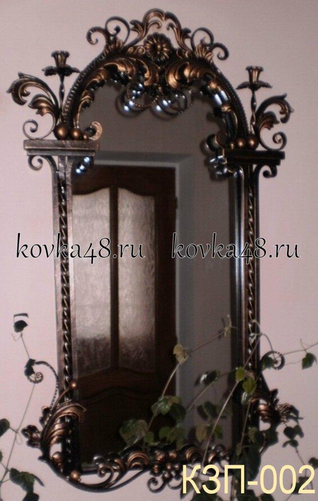 Кованые зеркала фото
